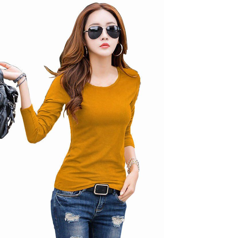 bdd9d77b0756c Yellow Color Bollywood New Party Wear Designer Girls And Women T-Shirts Top   FlowersFashion  PartyWear