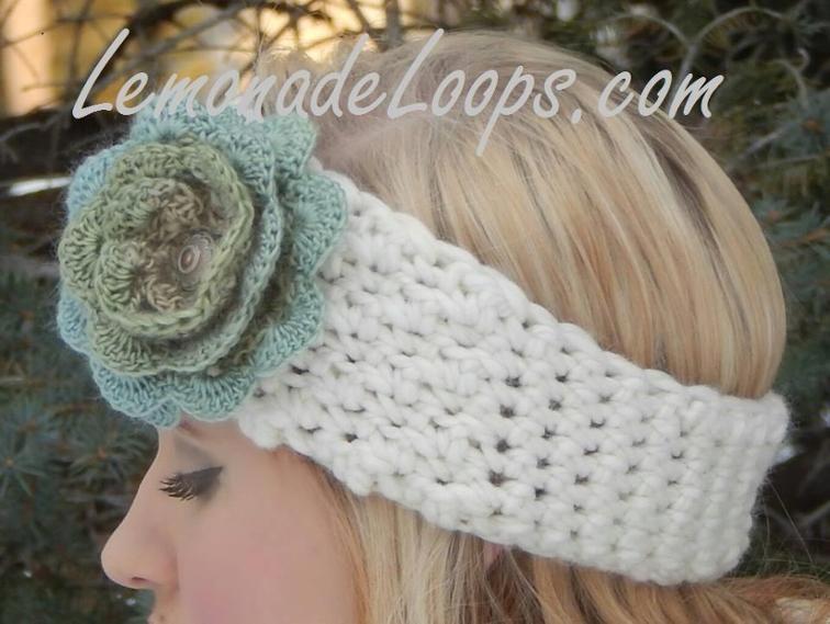 8 Quick And Easy Crochet Flower Headband Patterns Simple Crochet