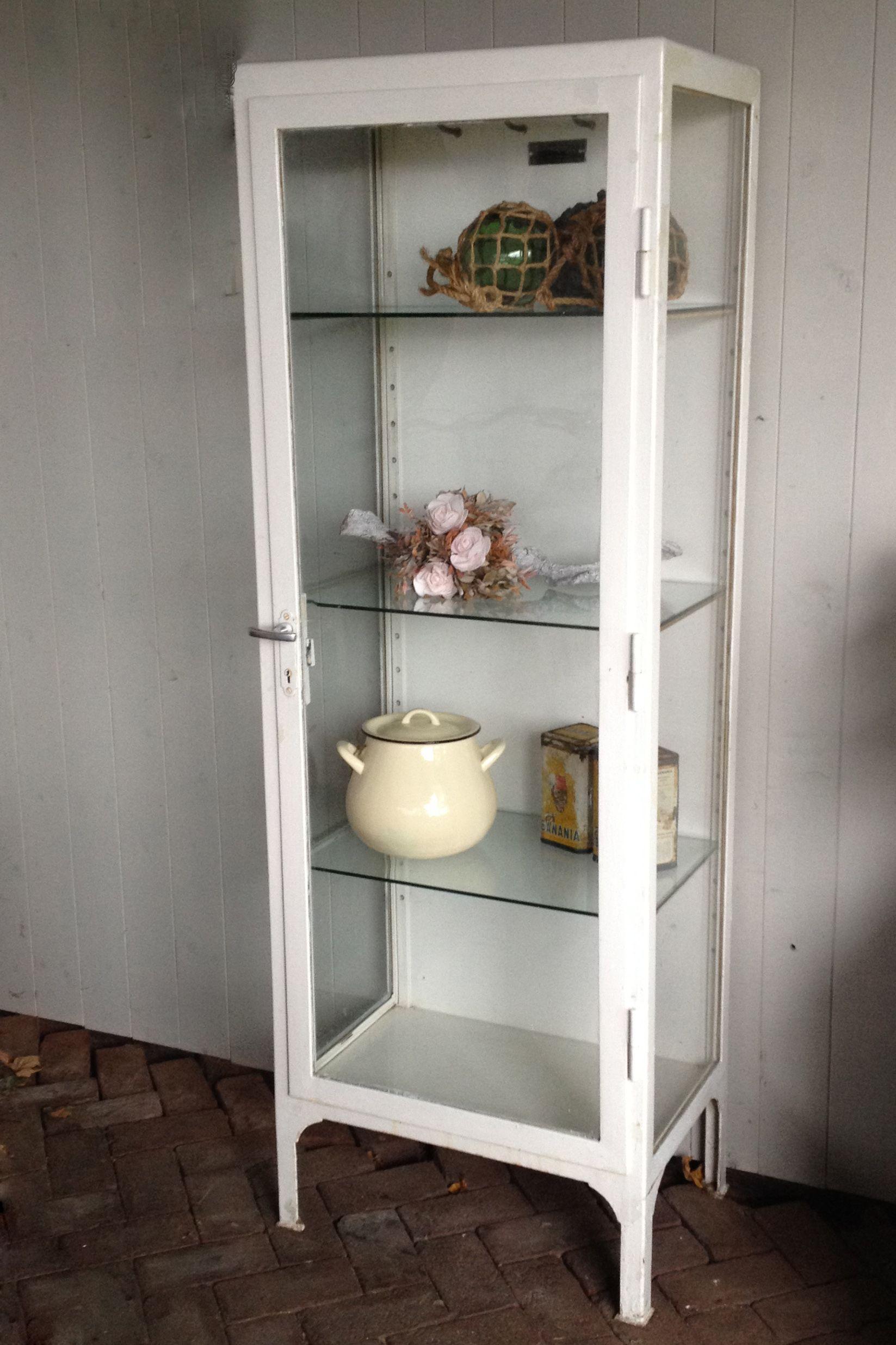 Goede Industriële apothekerskast / metalen vitrinekast | Vitrinekast CY-67