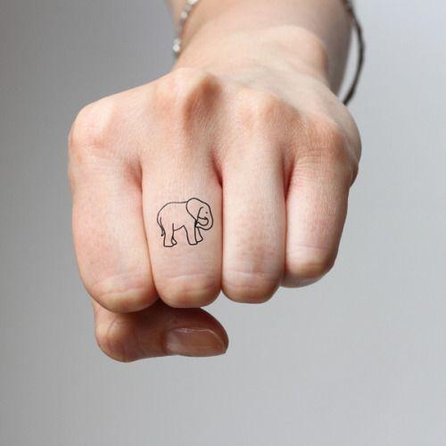 Mis Tatuajes Favoritos Tatuajes De Elefantes Tatuaje Pequeno De Elefante Elefante Tatuaje Pequeno