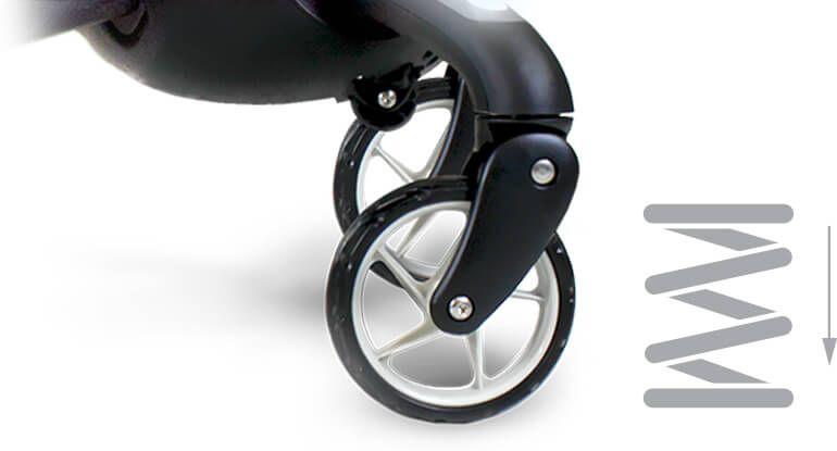 4moms Origami Stroller Review Suspension In Baby Stroller Single