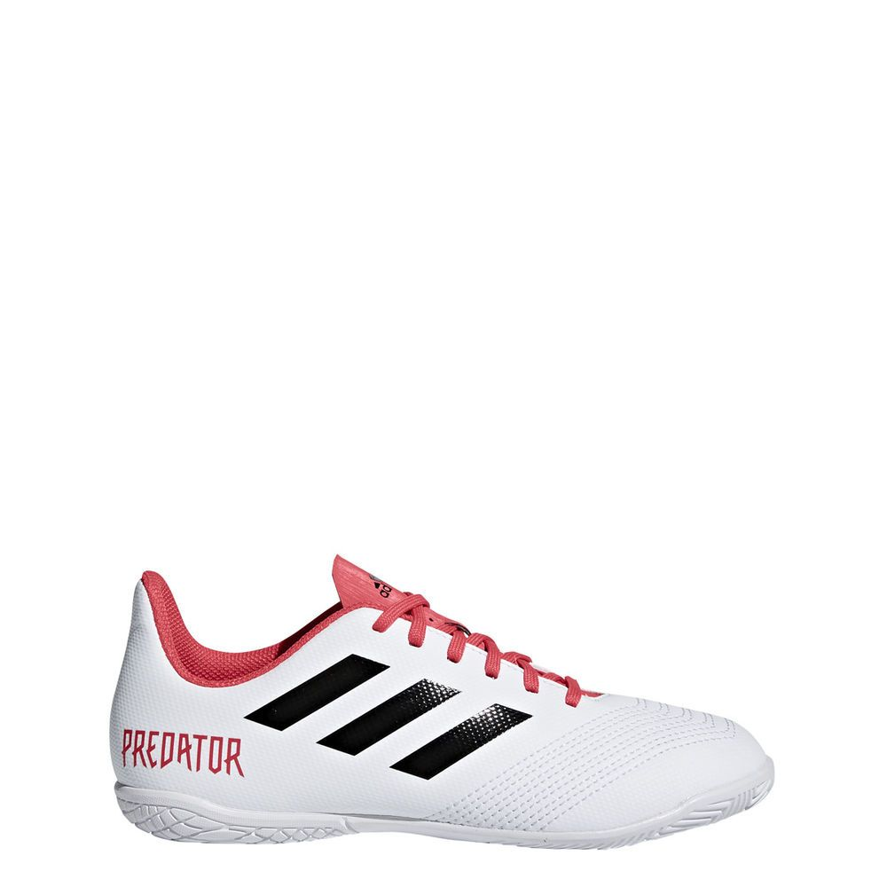 f8b6bb7a9b8c9 Adidas Predator Tango 18.4 IN J Youth Indoor Junior White Soccer Shoes  CP9103