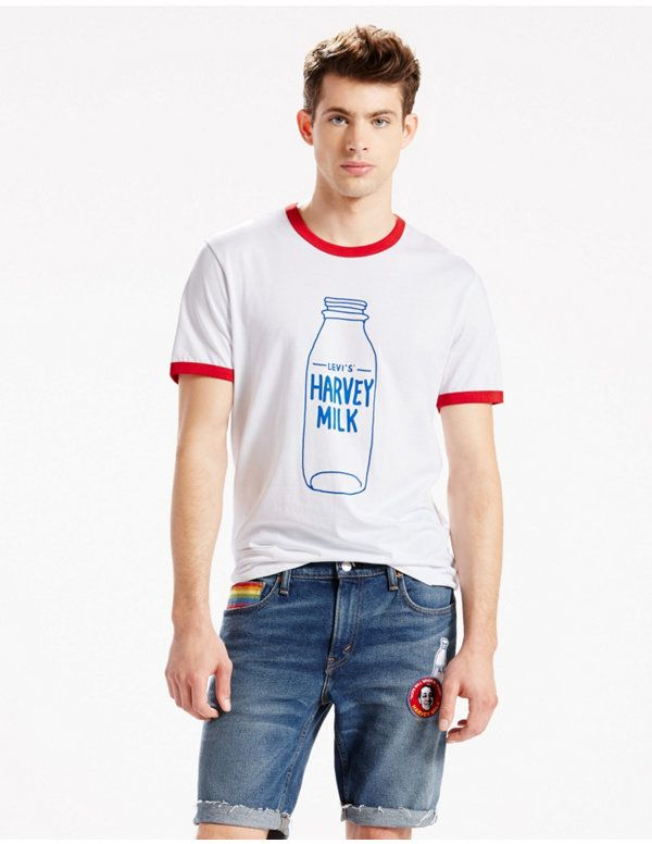 ffcd9cda1930 Levi's® Pride Ringer Tee | Pins of a Shopaholic in 2019 | Harvey ...