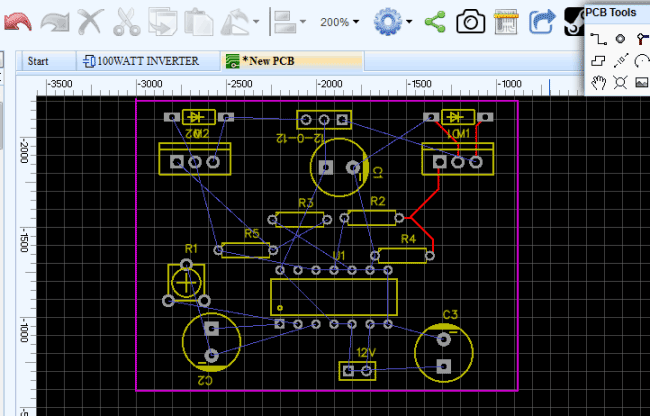 Design Electronic Circuits Online For Free With Easyeda Pcb Design Electronics Circuit Design
