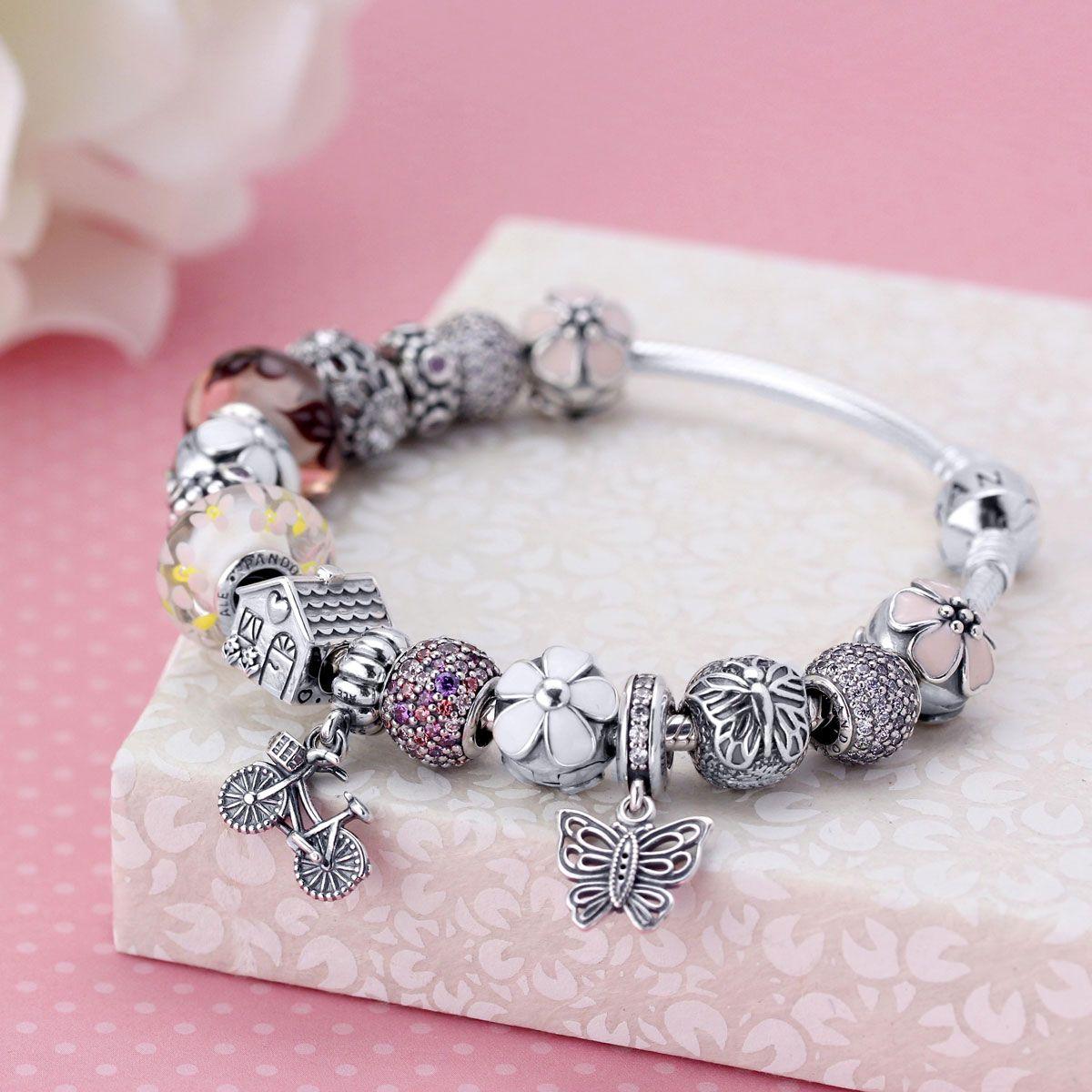 Pandora Charm Bracelet Ideas: Home > Pandora Finished Bracelets