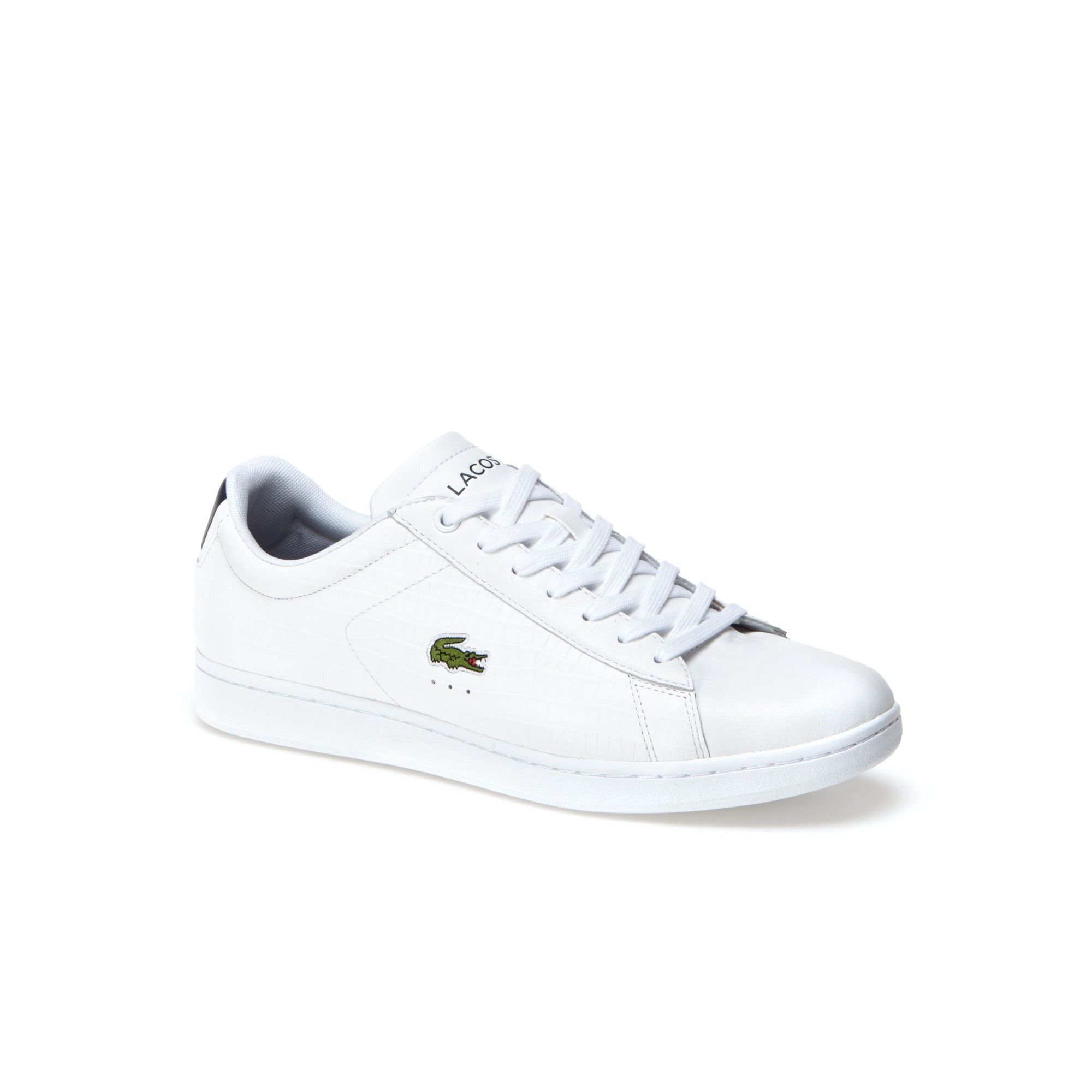 super popular a8439 0ac6f LACOSTE Men's Carnaby Evo Low-Rise Contrast Heel Sneakers ...