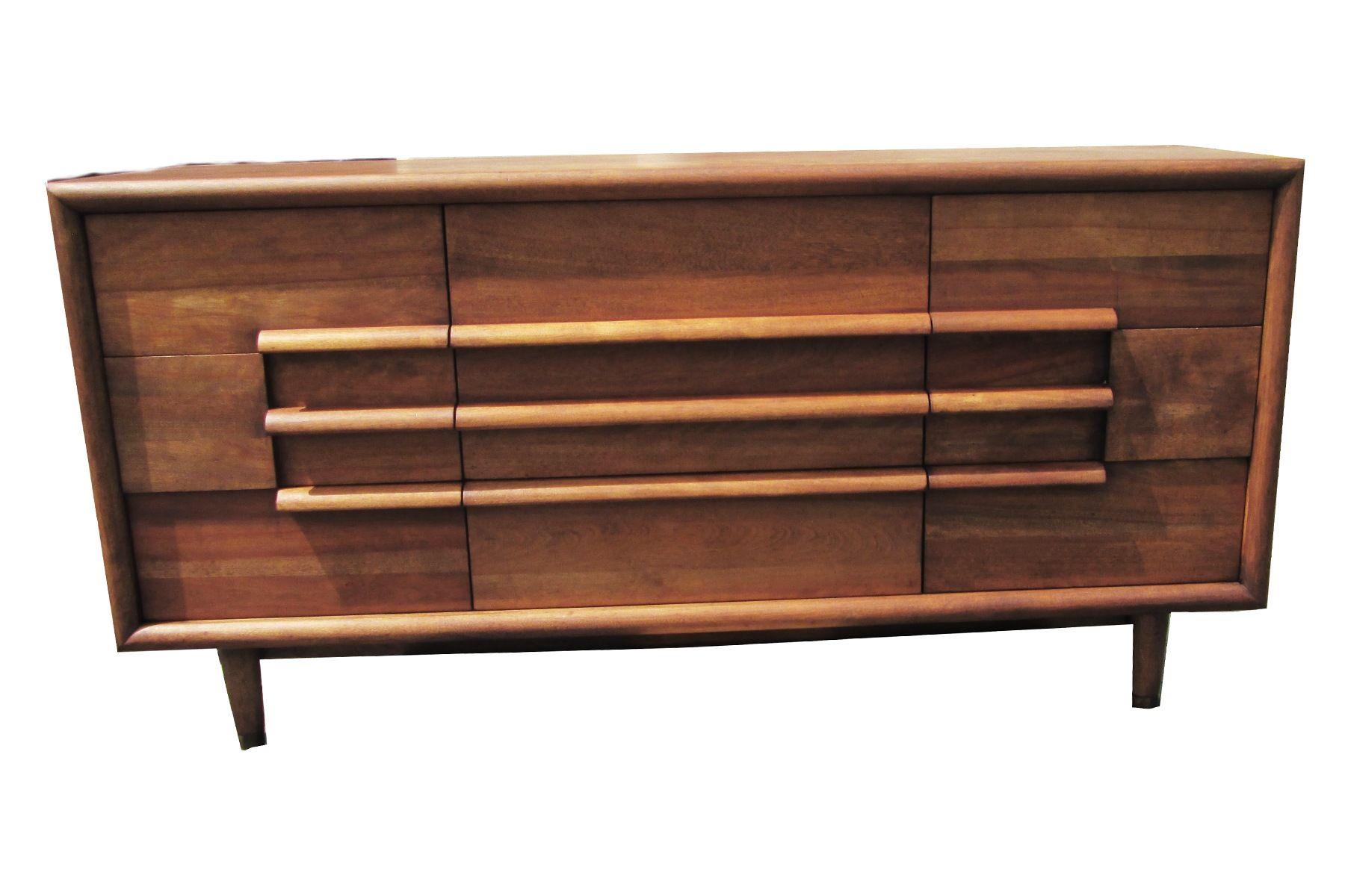 Best Furniture Guild Of California 9 Drawer Walnut Dresser 400 x 300