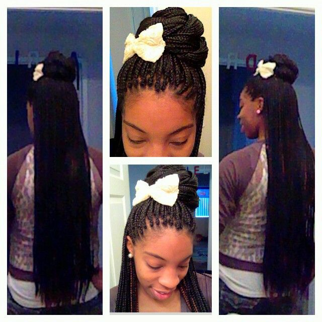 Pin By Ra Niesha Bratton On Love Me So Naturally Box Braids Styling Hair Styles Braid Styles