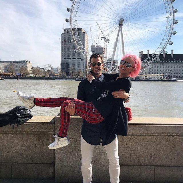 ❤️🎡 #ichliebedich @danadiekmeier #tb #london #diekmeier