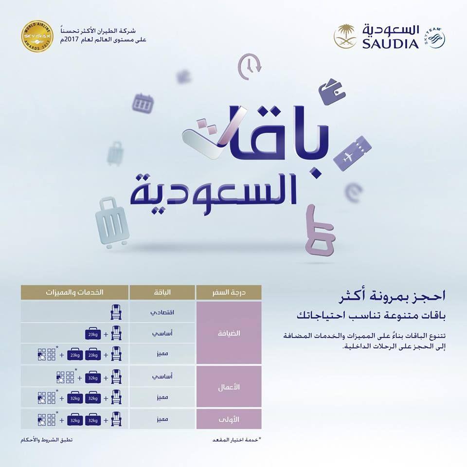 عروض الخطوط السعودية علي الرحلات الداخلية 20 فبراير 2018 عروض اليوم
