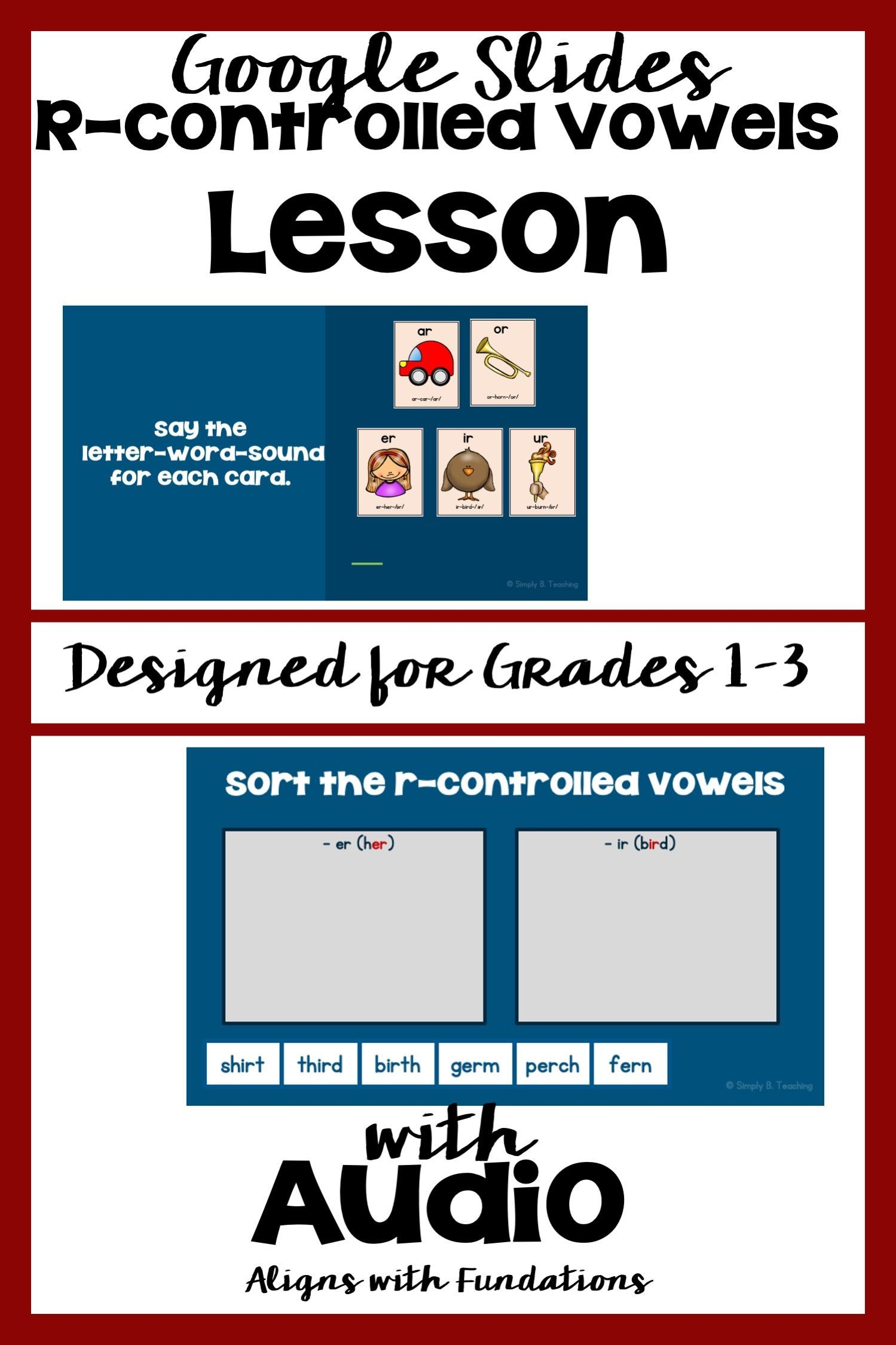 R Controlled Vowels Activities In