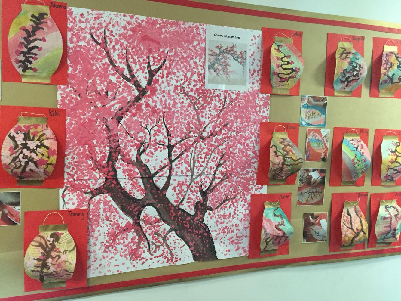 Spring Blossom Classroom Displays Display Spring Blossom