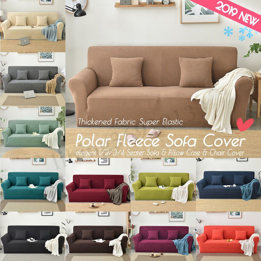 1 2 Seater Sofa Stretch Elastic Fabric Slip Sofa Armchair Couch Protector Cover 1 2 4 6 8 Pcs Elastic Stretch Chair Cover Sofa Covers Slip Covers Couch Couch