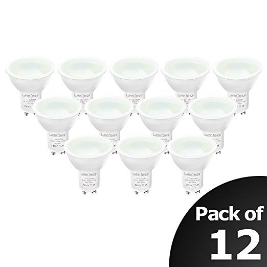 Gu10 Led Lampe Ersetzt 40w Halogenlampen Lumin Tekco Dimmbar Led Bulbs Warmweiss 2700 Kelvin 280 Lumen 12er Pack Led Lampe Led Lampen