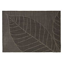 Buy John Lewis Leaf Placemat Grey Online At Johnlewis Com Placemats Table Linens Home Decor