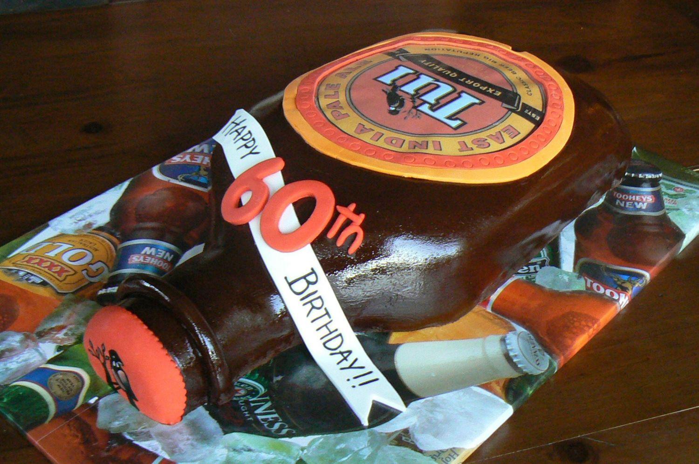 Tui Bottle Bottle Cake Beer Cake Beer Label