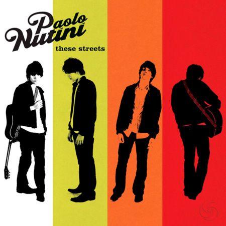 Paolo Nutini CD Cover design