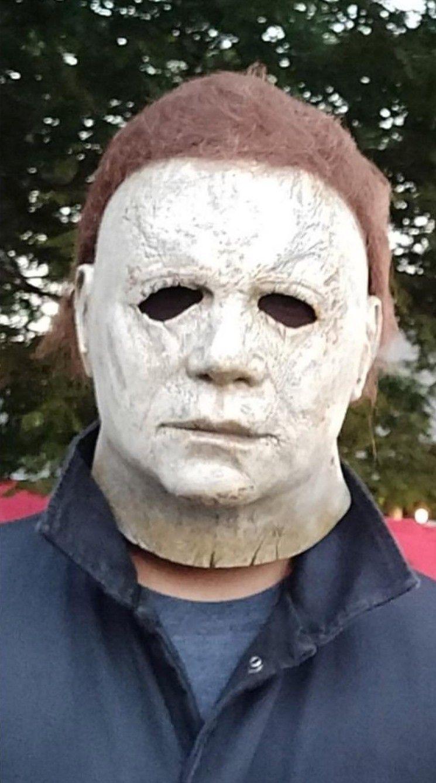 Halloween 2018 Michael Myers Mask.Pinterest