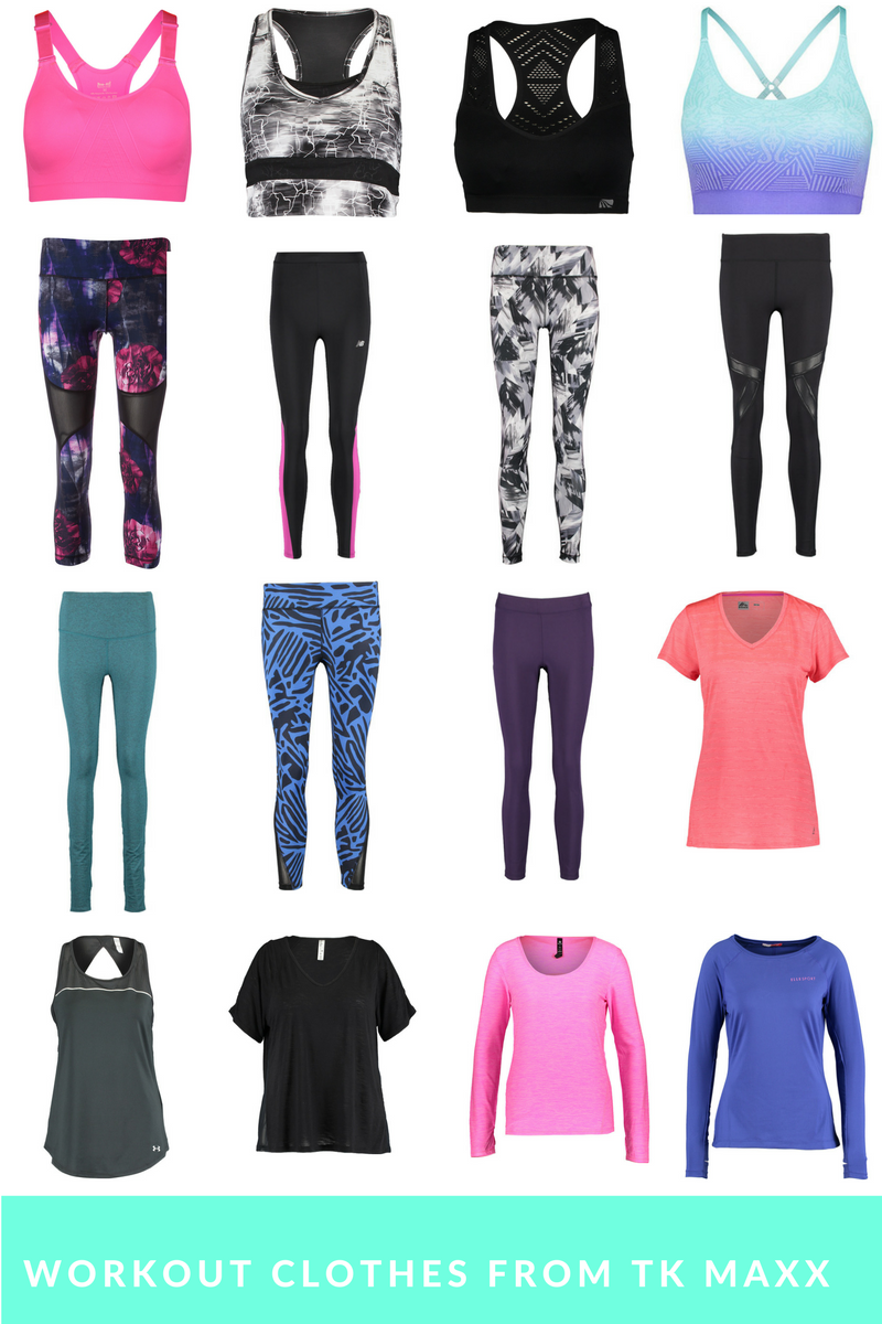 Cute Cheap Workout Clothes From Tk Maxx I Heart Cosmetics