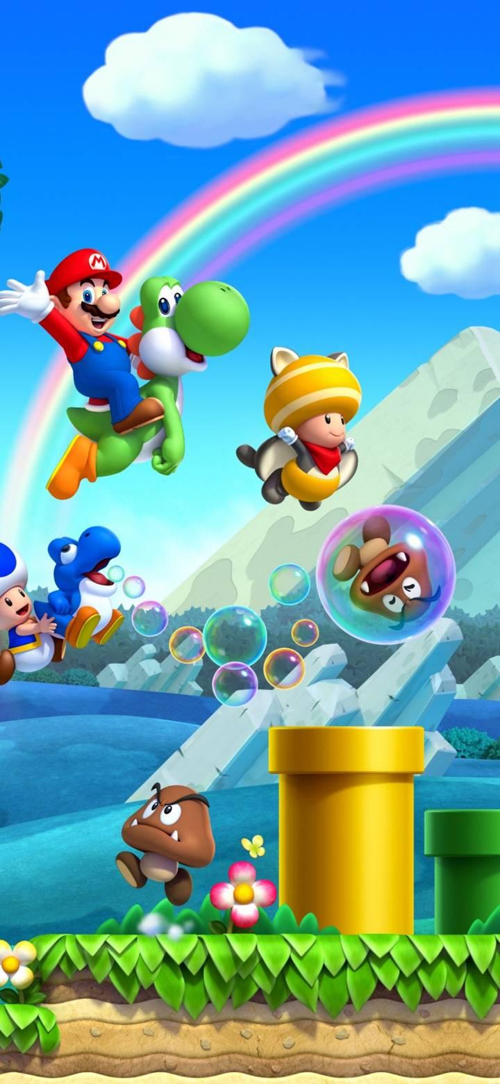 Los Mejores Wallpaper De Mario Bros Fondos De Mario Bros Fondos De Mario Fondos De Pantalla De Juegos