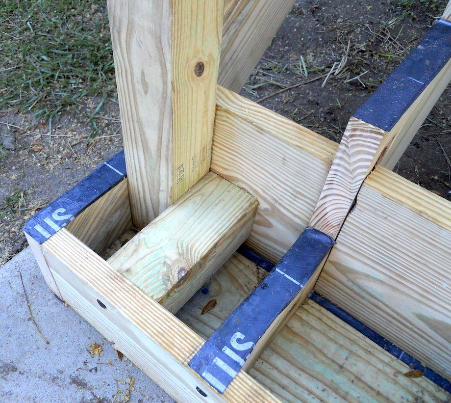 Attaching Bottom Deck Posts THISisCarpentry Deck posts