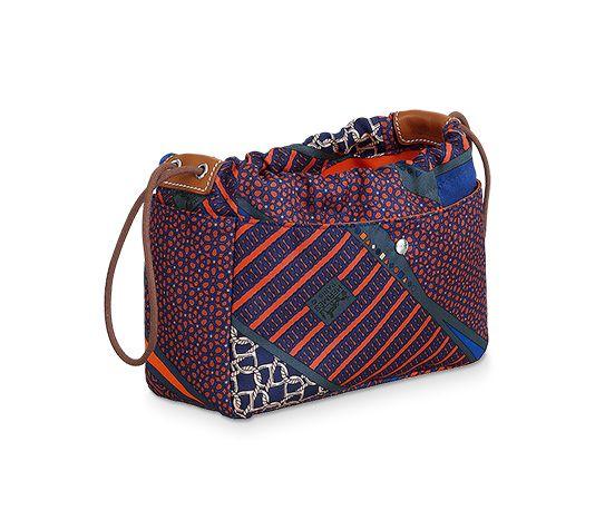 2b1897c28 Fourbi 20 insert Hermes bag insert in ocean blue