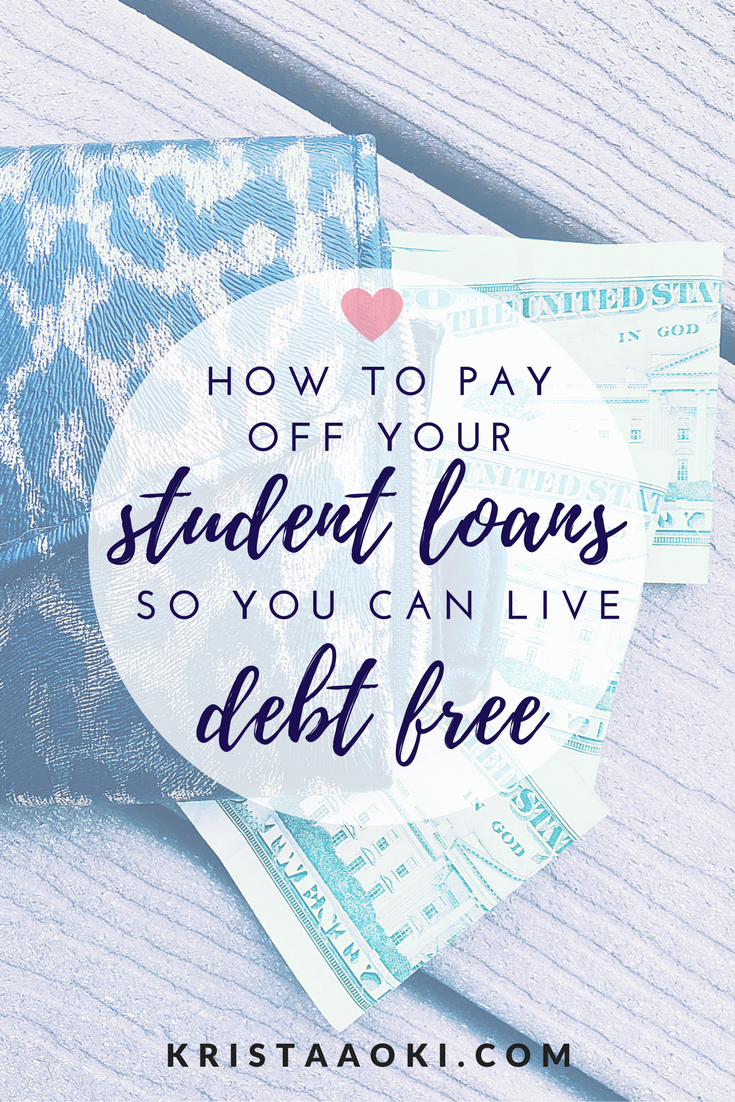 Student Loans 101 a lifestyle & travel
