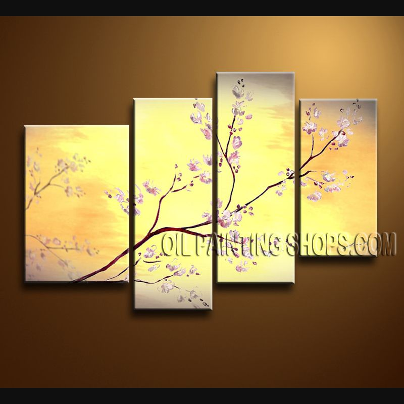 Beautiful Contemporary Wall Art Hand-Painted Art Paintings For ...