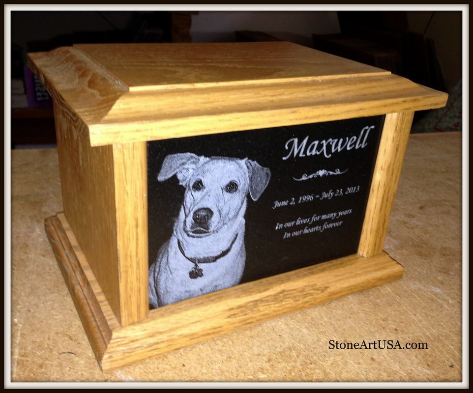 Personalized Pet Cremation Urn Box In Loving Memory