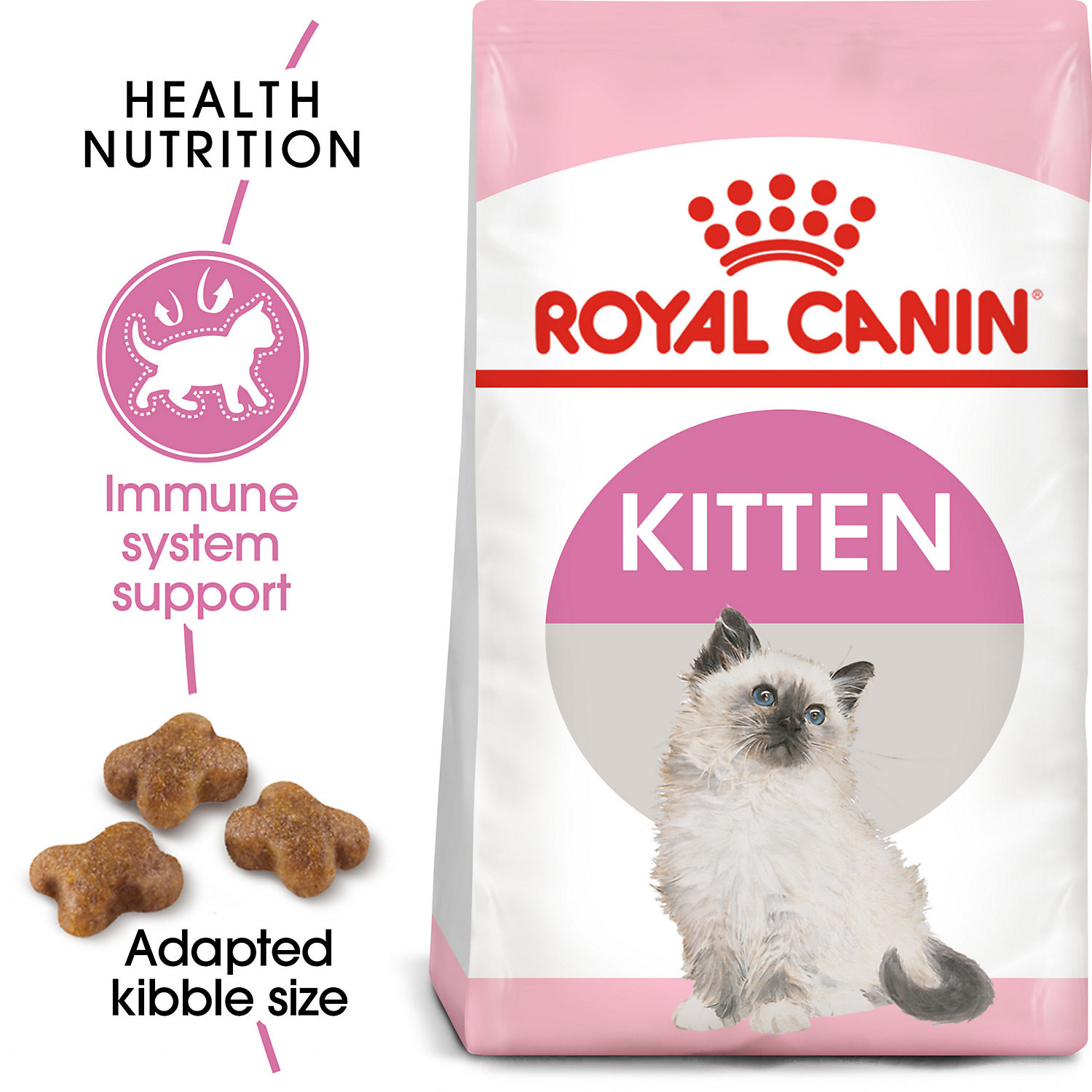 Royal Canin Feline Health Nutrition Dry Food For Young Kittens 15 Lbs Cat Nutrition Kitten Food Health Nutrition