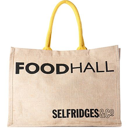SELFRIDGES SELECTION Selfridges Foodhall Reuse-Me-Instead bag ...
