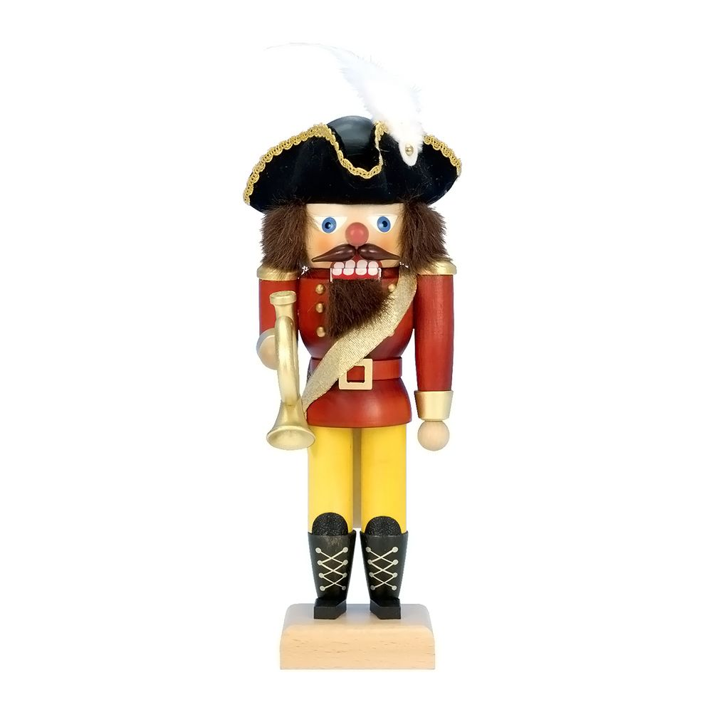 "cool Christian Ulbricht Mini Nutcracker - PostilionChristian Ulbricht Mini Nutcracker - Postilion - 10""""H X 4""""W X 4.5""""D Check more at http://christmasshortstory.com/product/christian-ulbricht-mini-nutcracker-postilion/"