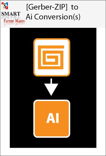 Gerber System to illustrator file-Gerber to Ai CAD