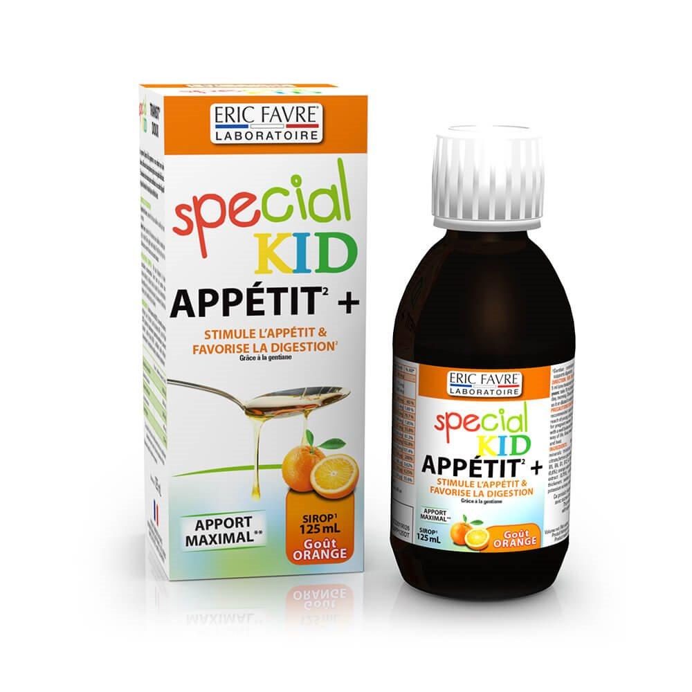 Special Kid Sirop Appetit + | Favorise La Prise De Poids ...