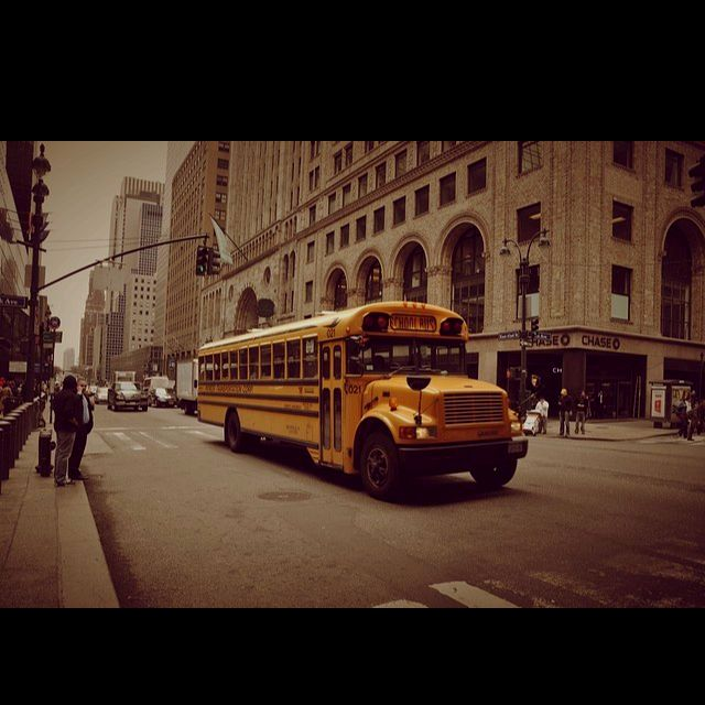 NYC school bus, found it copied and pasted ;-)