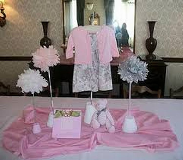 baby shower table decoration ideas for girl babies