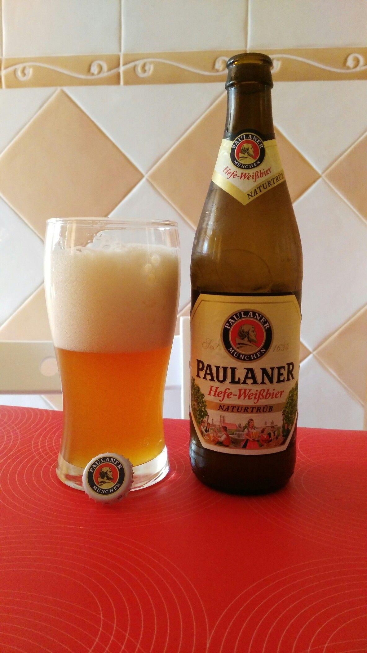 Paulaner Hefe Weissbier Cerveza De Trigo 5 5 Origen Munich