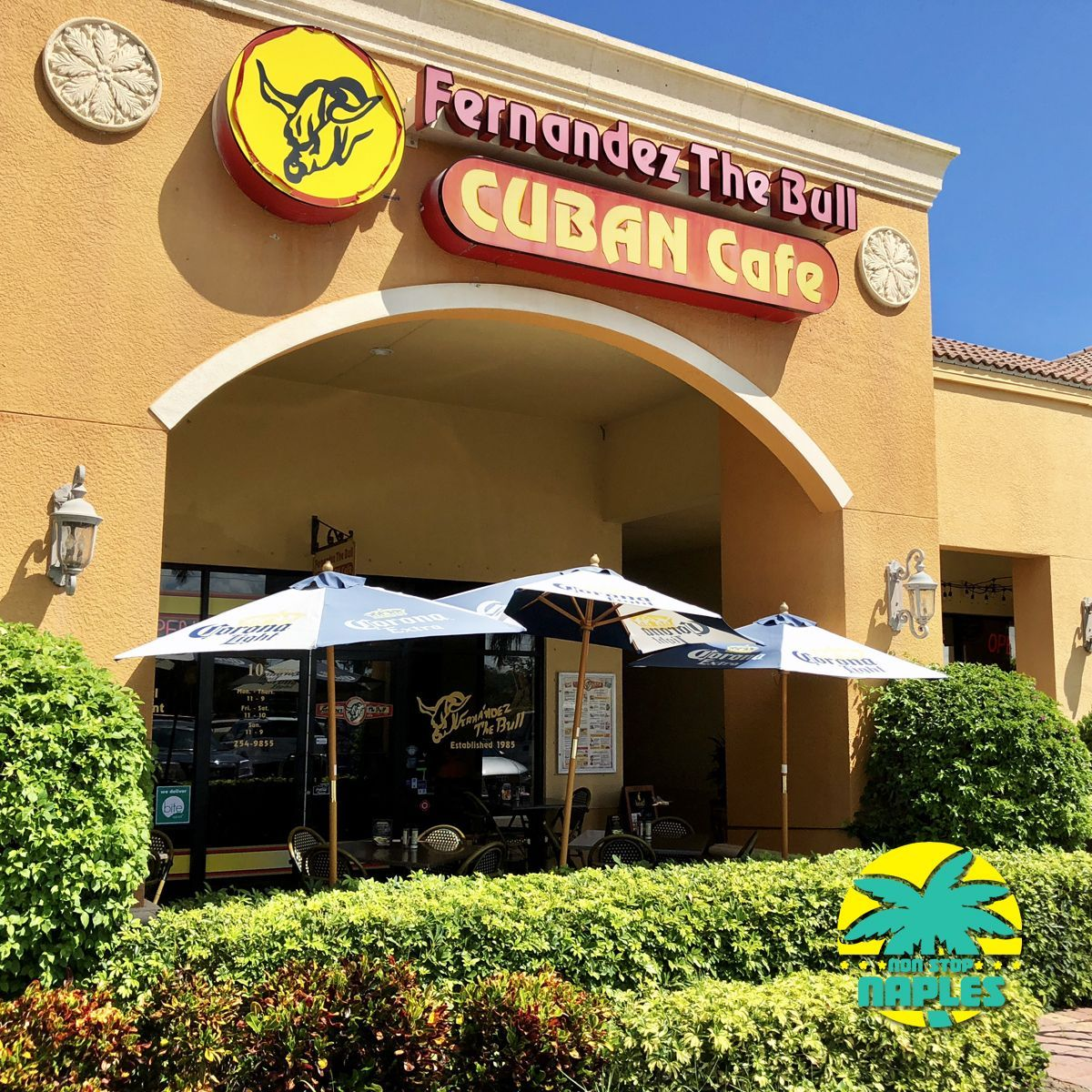 Fernandez The Bull Cuban Cafe North Naples Original Restaurant Serving Authentic Food For Over 30 Years Definitely Check It Out