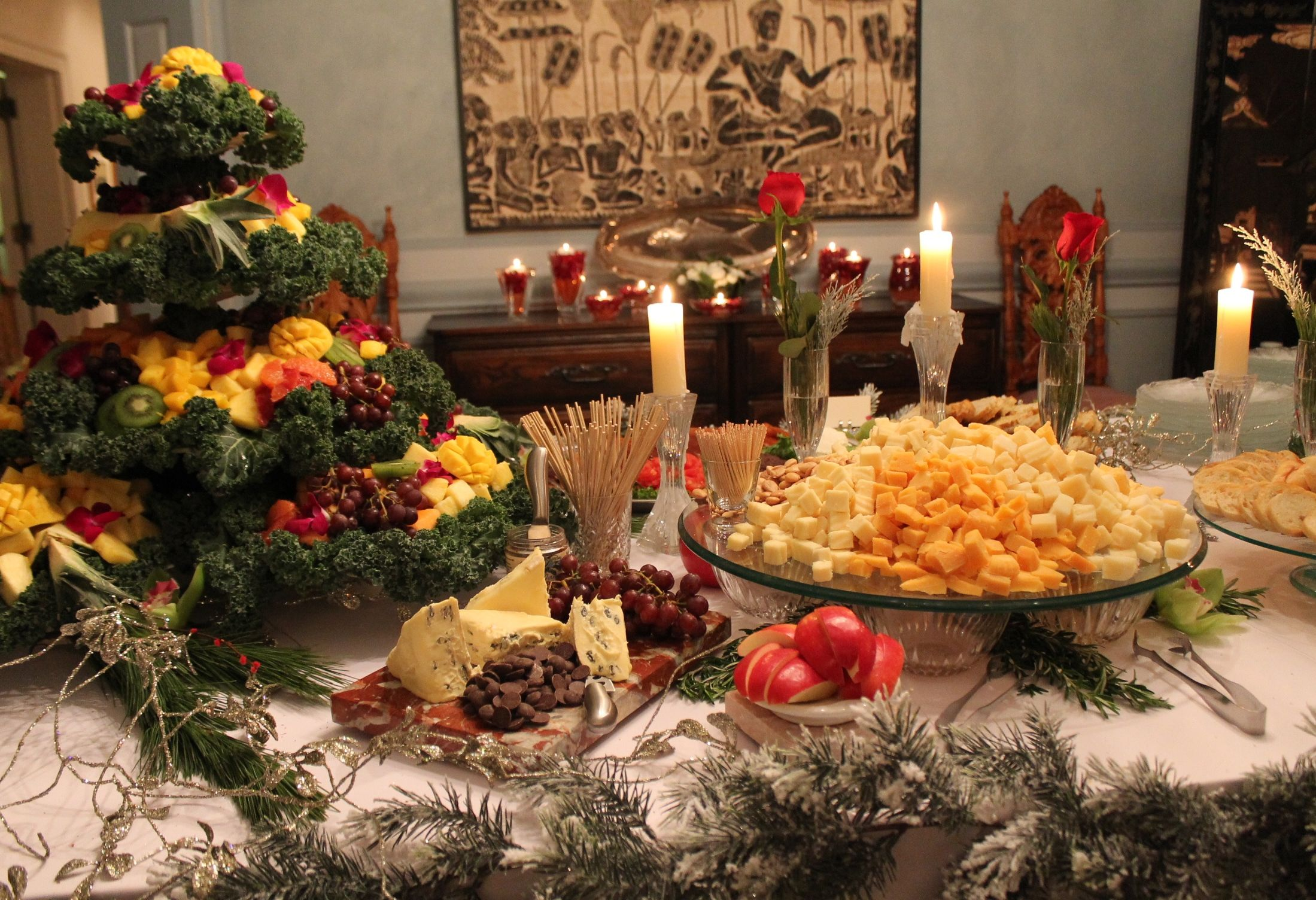 Catering by Kowalski's Christmas Buffet Catering
