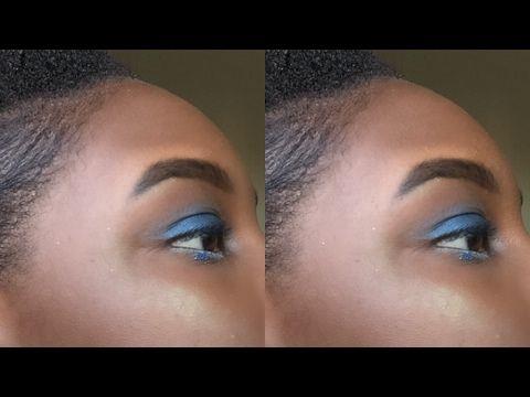 just in pro eyeshadow blending  gradient effectbeginner