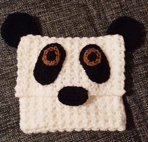 Panda - Täschchen | DIY Häkeln - Pandabär | Pinterest | Diy häkeln ...