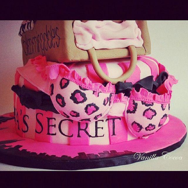 Victoria Secret Pink Cake Ideas
