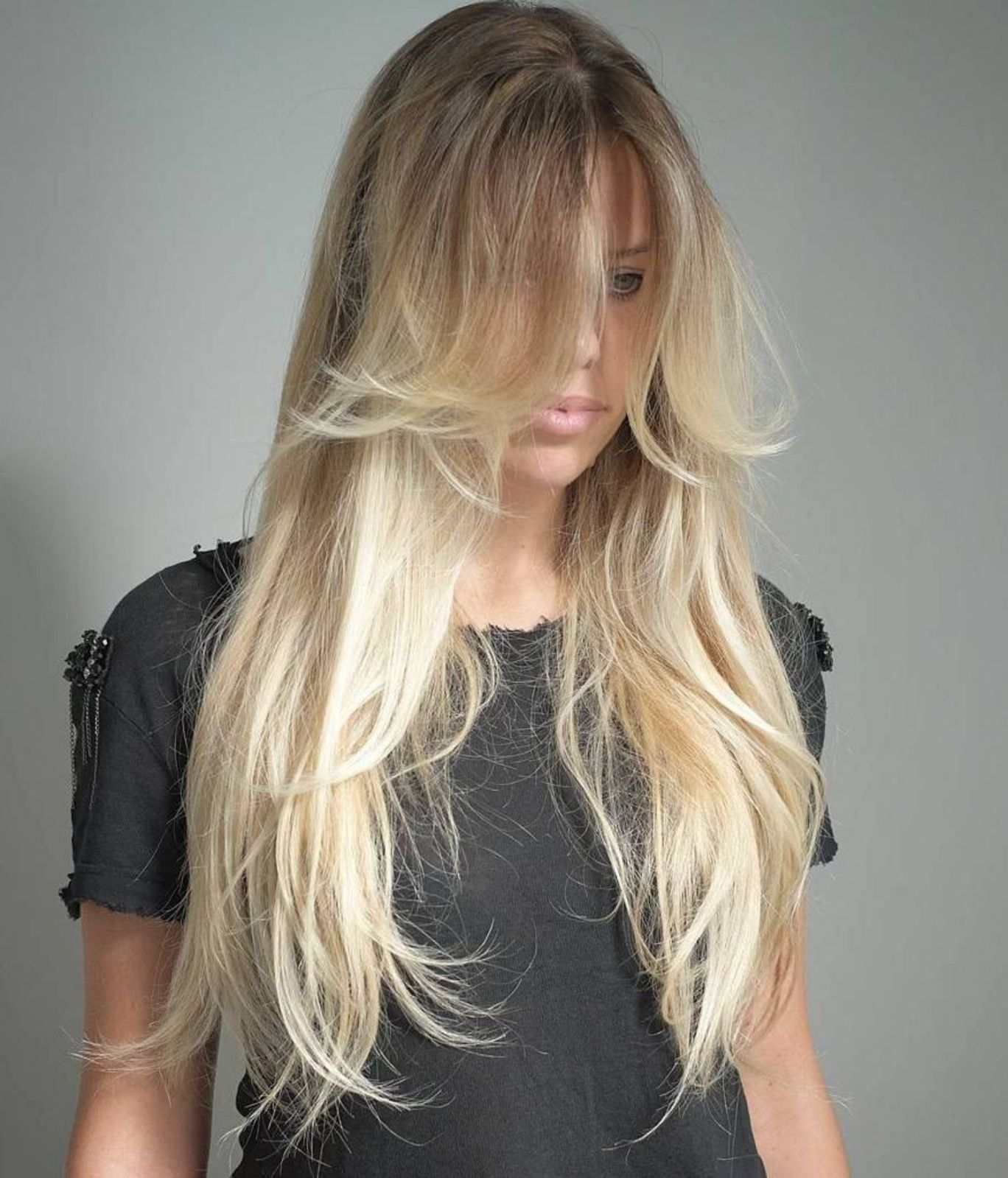 40 long hairstyles and haircuts for fine hair | hair to dye