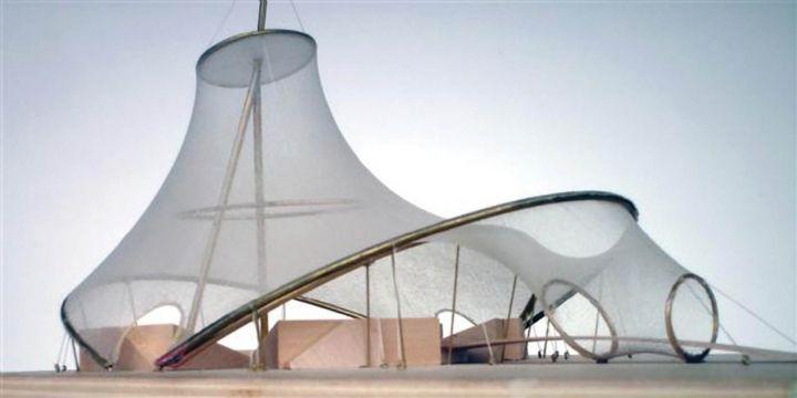 Tension Revisited Rhino Fabric Architecture Minimal