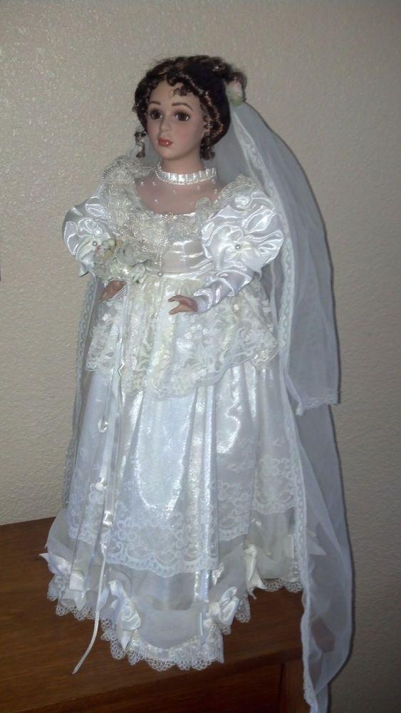 New Symphony Classic Limited Edition PRINCESS BRIDE Porcelain Doll ...