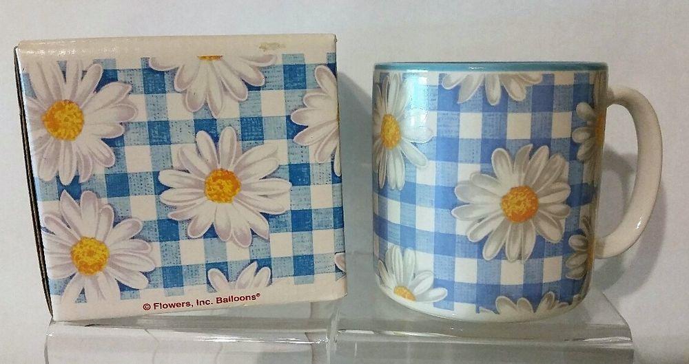 Fib About Daisies >> Flowers Inc Balloons Flower Daisy Print Coffee Cup Mug Daisy S