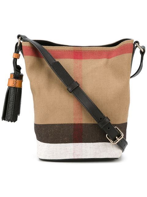 5902dc050a4 Shop Burberry small  Ashby  crossbody bag in Parisi from the world s best  independent boutiques