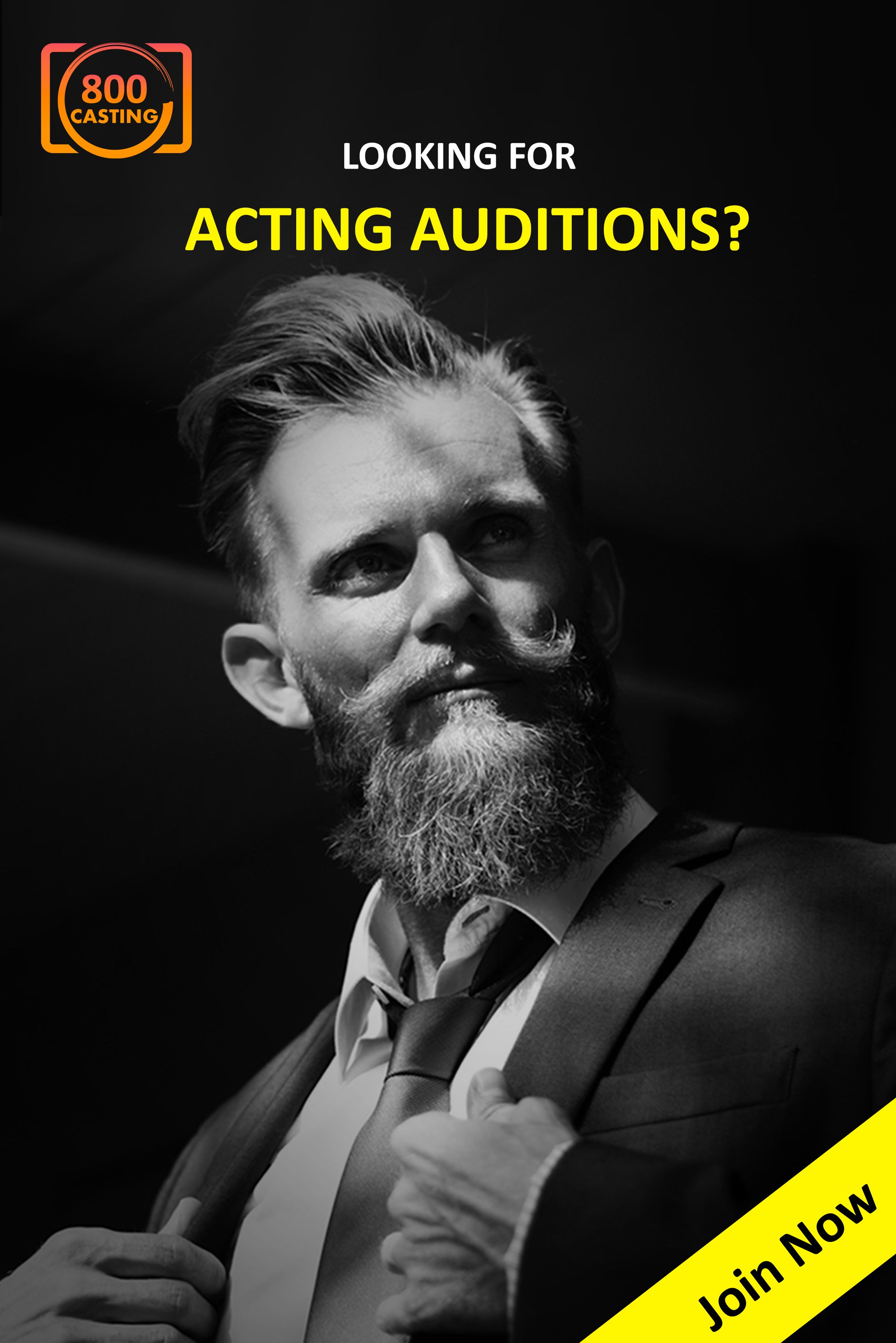 Looking for acting auditions? Join 800Casting Now