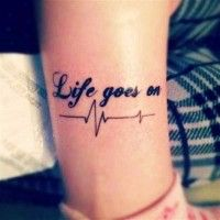 Faith Tattoo Quotes on Rib, Accept what is, Let go of what was, And have faith in what will be | DIY tattoo quotes