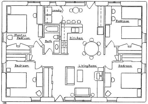 open house plans and that economical 4 bedroom house plans sure to an for the home pinterest 4 bedroom house plans 4 b